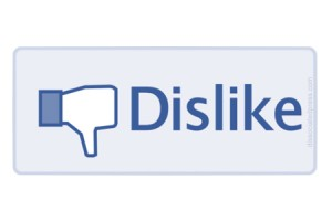 Facebook tasto non mi piace