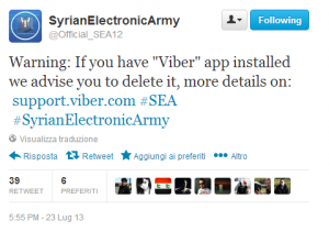 Syrian Electronic Army Twitter