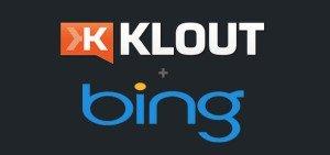 Bing Klout Integration