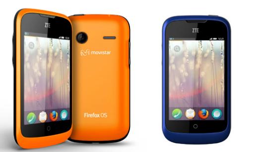 Annunciati i primi smartphone con Firefox OS