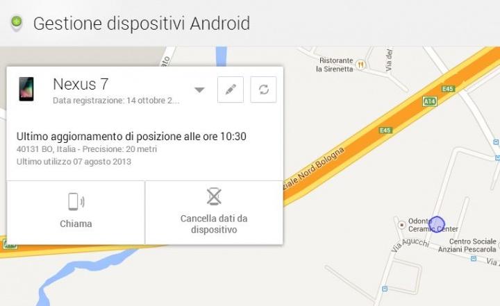 Come trovare un cellulare Android rubato?