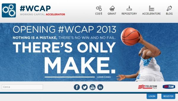 25mila euro per la tua idea! #Wpcap2013 scade il 30 settembre!