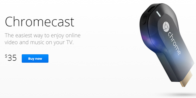 Acquista Google Chromecast su Amazon
