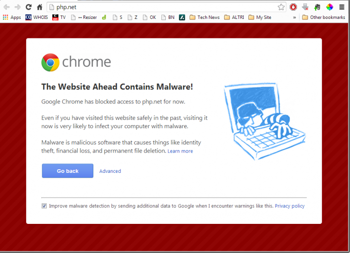 Php.net Malware