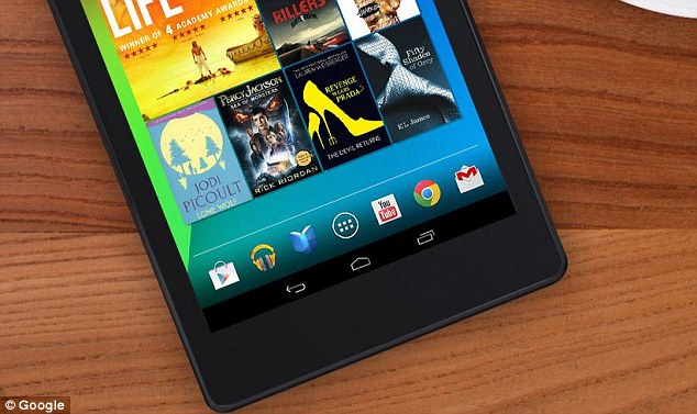 Google Tablet Nexus 8
