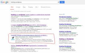 Esempio Google Social Search