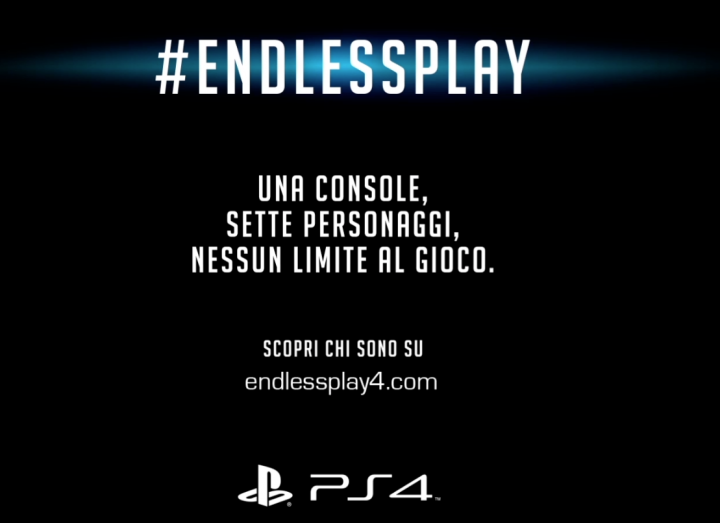 #EndlessPlay, un cuore social per la PlayStation 4