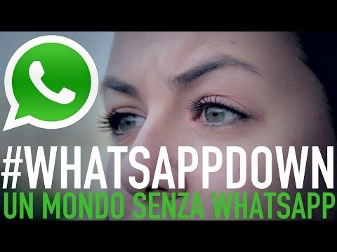 WhatsAppDown, il video parodia