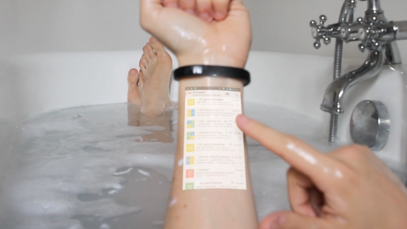 Cicret Bracelet: rendi touch la tua pelle! Altro che Smartwatch!