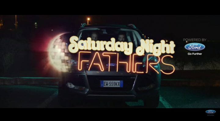 Ford Kuga Saturday Night Fathers