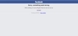 #FacebookDown: da qualche minuto Facebook si è fermato!