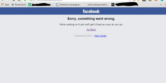 Facebook Down di nuovo! Twitter ringrazia!