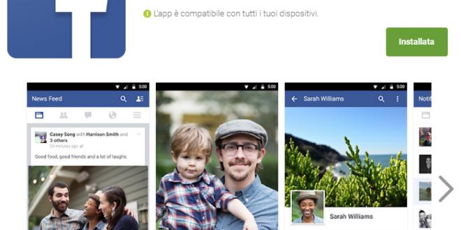 Facebook non funziona sui Samsung Note 3