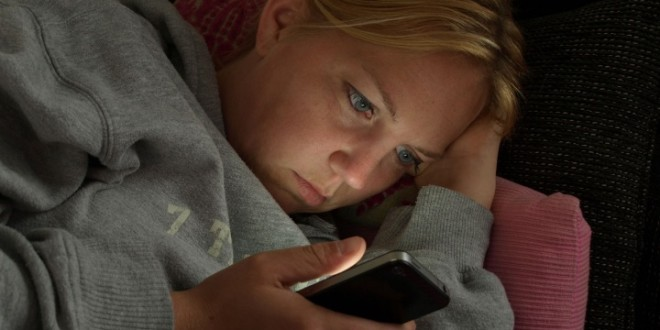 """Smartphone con """"modalità letto"""""""