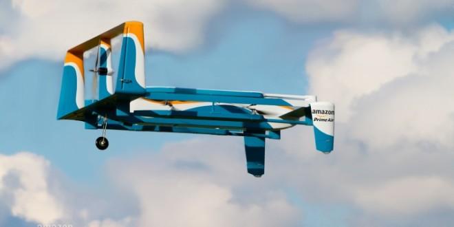 Video del Drone Amazon Prime Air