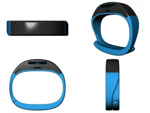 Cicret Bracelet Blu