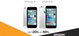 Amazon: Migliori Offerte iPhone 5 e 6