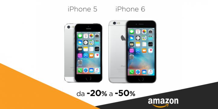 Sconti Offerte iPhone 5 e iPhone 6