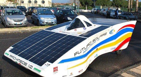 Archimede Solar Car 1.0: L'Auto Ad Energia Solare