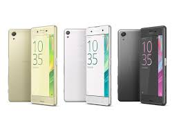 Lo smartphone Android Sony Xperia X