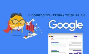 Visibilità Google SEO